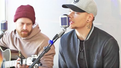 Kane Brown Shows Off Deep Voice With Pure Country 'Three Wooden Crosses' | Country Music Videos