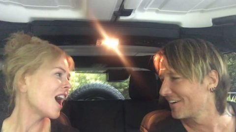 Keith Urban And Nicole Kidman Sing 'The Fighter' In The Cutest Duet You'll Ever See   Country Music Videos