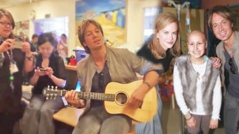 Keith Urban & Nicole Kidman Serenade at Children's Hospital (VIDEO) | Country Music Videos