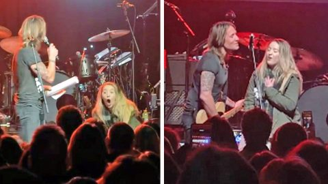 Keith Urban Brings Unsuspecting Fan On Stage For Impromptu Duet | Country Music Videos