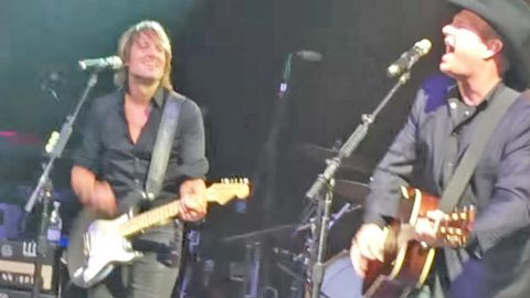 Garth Brooks & Keith Urban Rock The ACM Gala With Riotous 'Friends In Low Places' | Country Music Videos