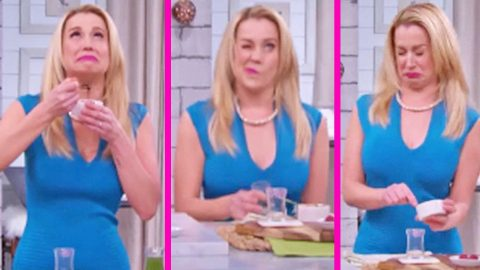 Kellie Pickler's Reaction To Eating Some Of The Most Sour Foods Is Hysterical | Country Music Videos