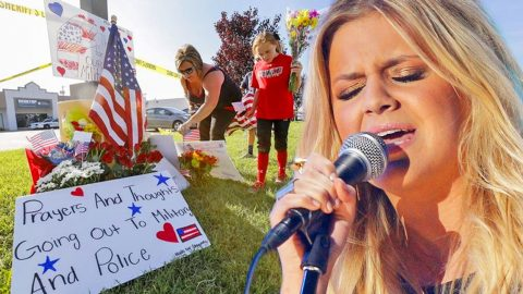 Country Singer Pays Tribute To Chattanooga Shooting Victims With Emotional 'Amazing Grace' Performance | Country Music Videos