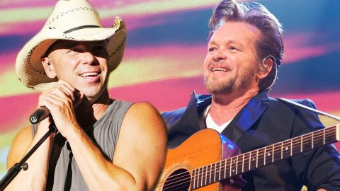 Kenny Chesney And John Mellencamp Light Up The Stage With 'Jack & Diane' | Country Music Videos
