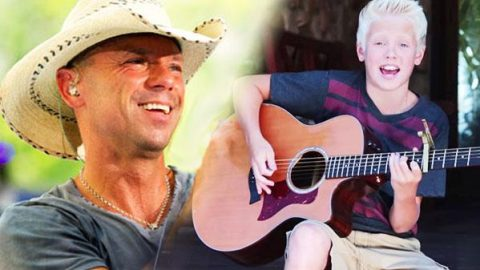 """13-Year Old Sensation Carson Lueders Sings Kenny Chesney's """"American Kids"""" (VIDEO) 