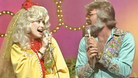 Kenny & Dolly Tease Fans With Flirty Performance Of 'Real Love'   Country Music Videos