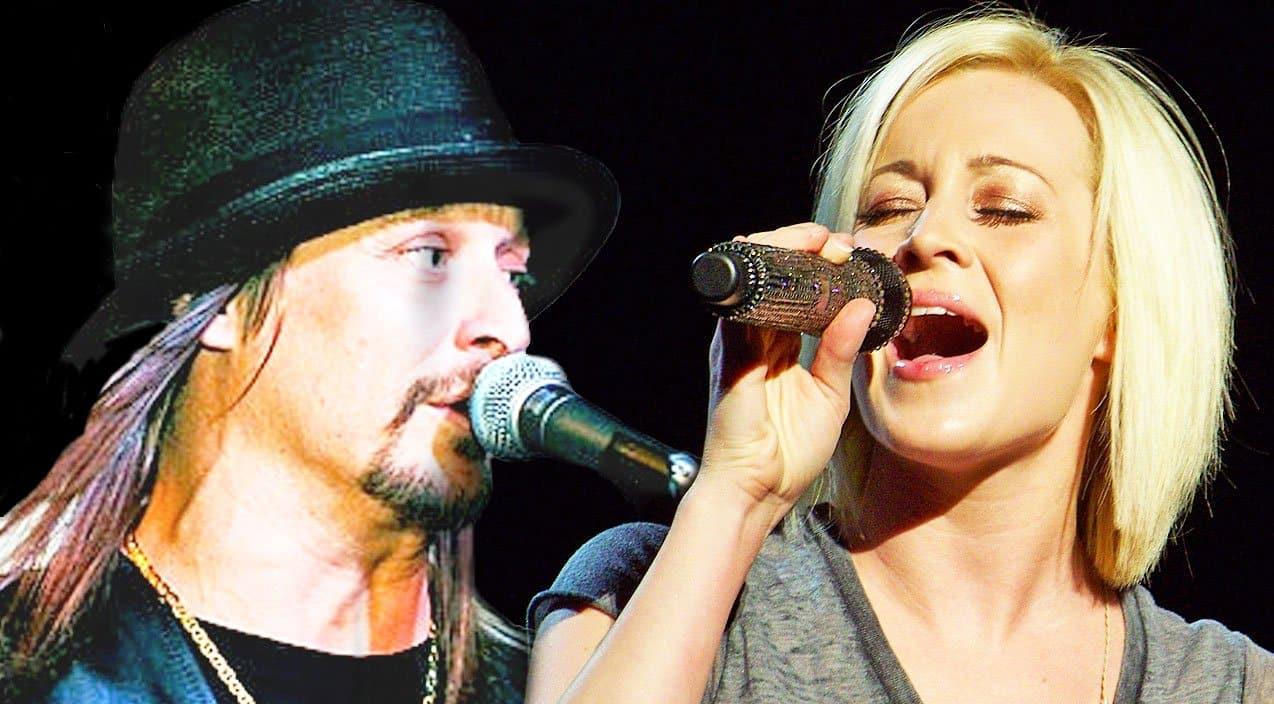 kellie pickler joins kid rock for dazzling duet on