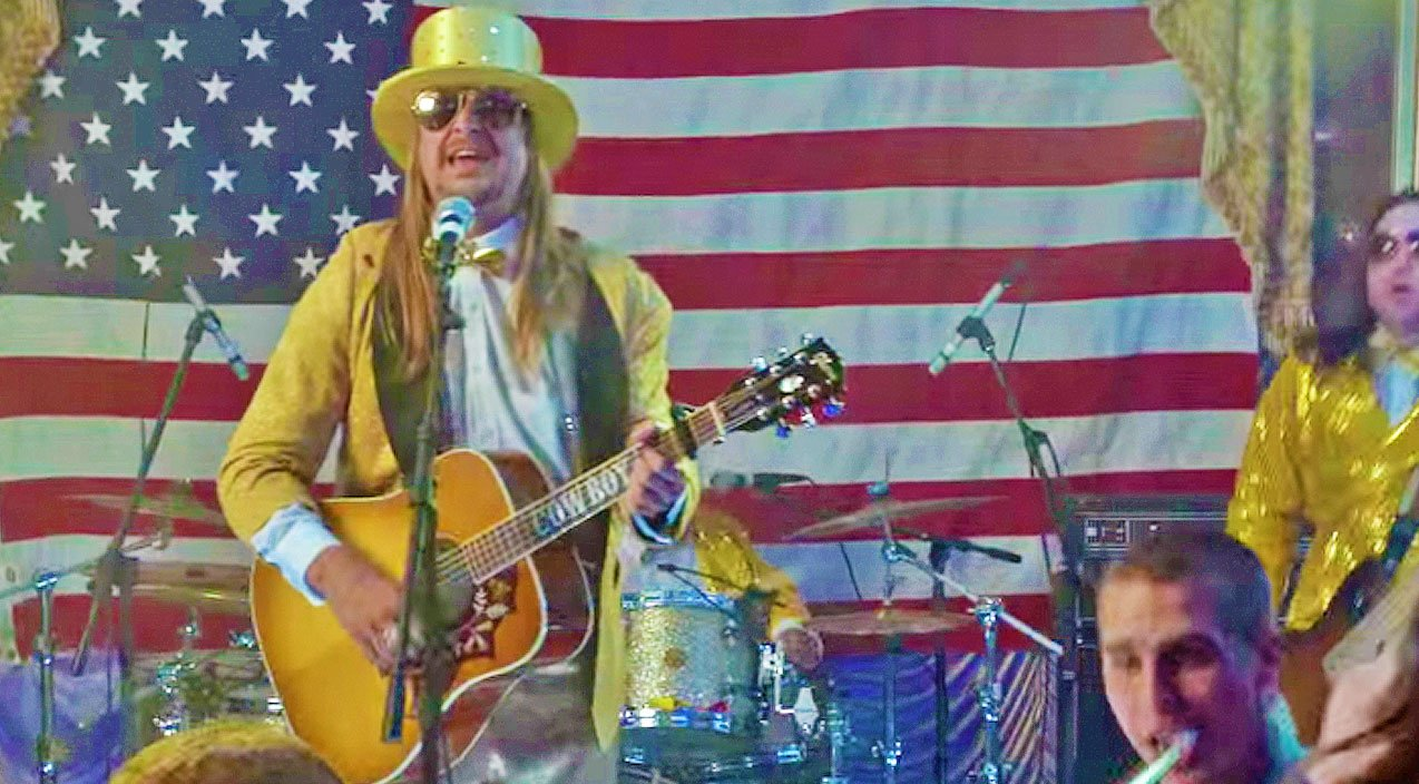 Kid Rock Rings In The New Year With Hysterical 'Happy New Year' Song