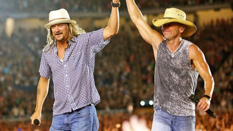 Kid Rock Joins Kenny Chesney For Surprise Hometown Performance Of 'Cowboy' | Country Music Videos