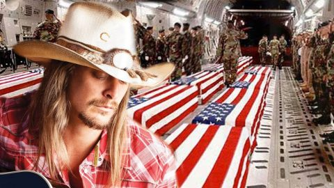 Kid Rock Delivers Bone-Chilling Tribute To Our Nation's Fallen Heroes | Country Music Videos