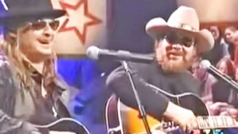 Kid Rock & Hank Williams Jr. Jam Out To 'Whiskey Bent And Hell Bound' | Country Music Videos