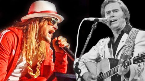 Kid Rock Delivers Mind-Blowing Cover Of George Jones' 'White Lightning' | Country Music Videos