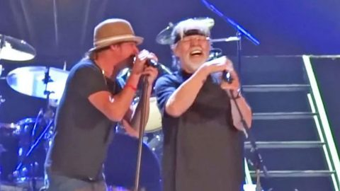 Kid Rock & Bob Seger Thrill Crowd With Killer 'All Summer Long'   Country Music Videos