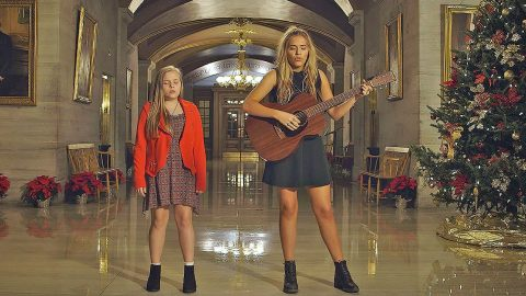 'Nashville' Stars Lennon & Maisy Perform Haunting Rendition of 'Silent Night' | Country Music Videos