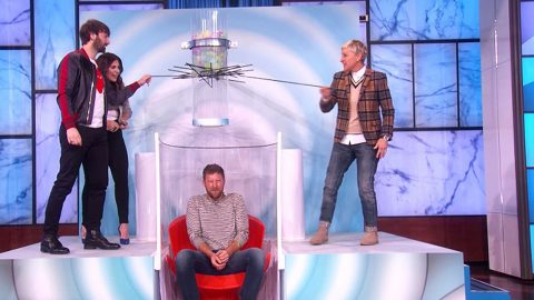 Lady Antebellum Takes On Ellen For Hysterical Game Of 'Oops! My Water Broke!' | Country Music Videos