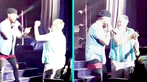 Woman Shows Off Smooth Dance Moves In Front Of Country Star | Country Music Videos