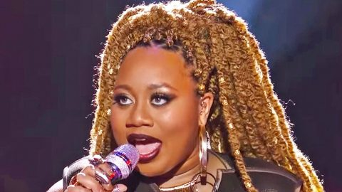 'Idol' Superstar Stuns With Unexpected Cover Of Bon Jovi's 'Wanted Dead Or Alive' | Country Music Videos