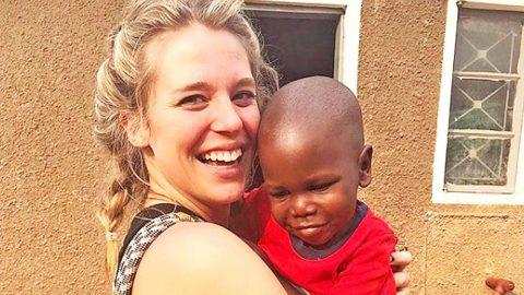 Thomas Rhett's Wife Lauren Shares Sad Story Of Orphan Boy She Bonded With In Uganda   Country Music Videos
