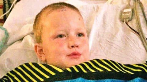 6-Year-Old Boy With Brain Tumor Dreams Of Meeting Luke Bryan | Country Music Videos