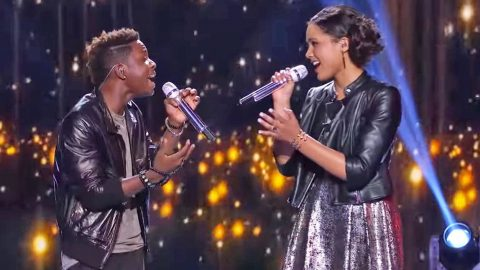 'Idol' Contestants Take Stage By Storm With Iconic Aerosmith Cover   Country Music Videos