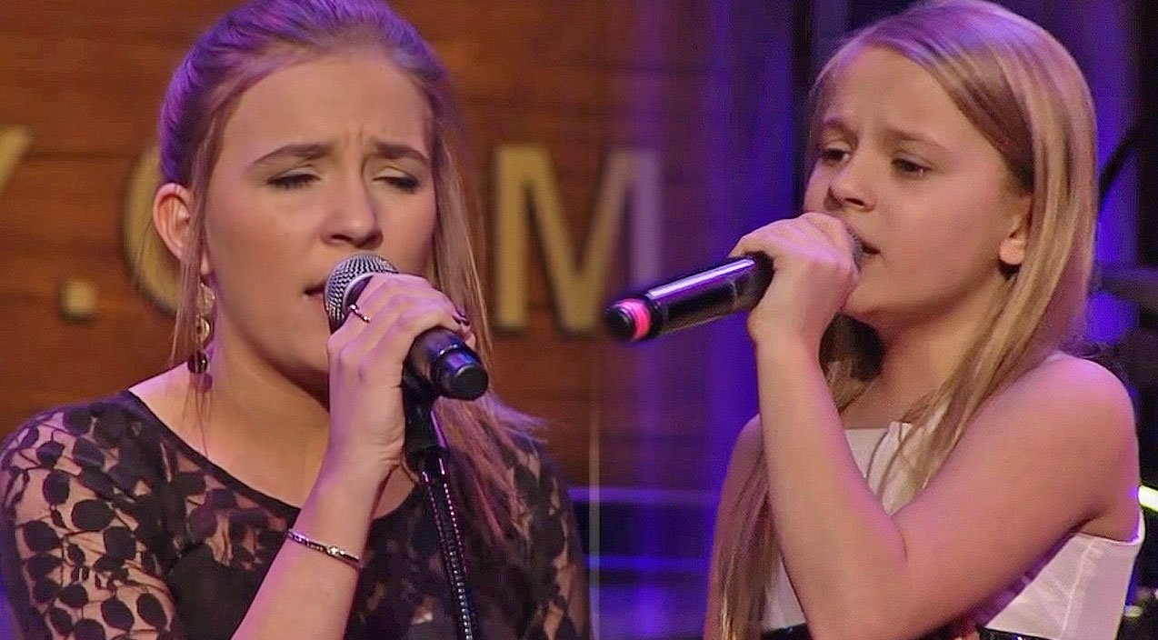 Lennon and maisy stun with soulful song written by parents at the opry country rebel - Lennon and maisy bio ...