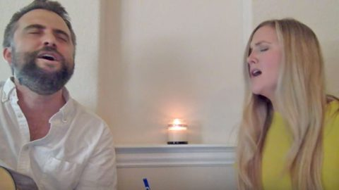 Duo Delivers Spine-Tingling Harmonies In 'Tennessee Whiskey' Cover | Country Music Videos