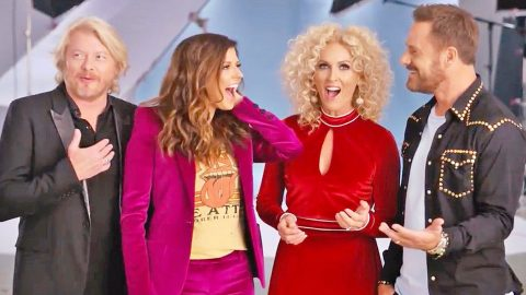 Little Big Town Member Surprises Bandmates On Camera With Exciting News | Country Music Videos