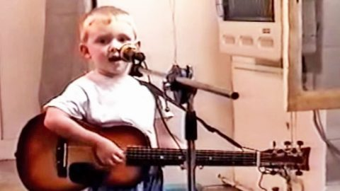 Adorable Two-Year-Old Will Steal Your Heart With Touching Cover Of 'Arlington' | Country Music Videos