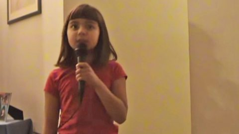 Darling Little Girl Sings Patsy Cline's 'Crazy,' And It's Too Cute For Words | Country Music Videos