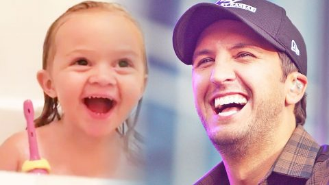 Luke Bryan's Biggest Fan Is The Most Adorable Little Girl, Ever. (Must-See!) (VIDEO) | Country Music Videos