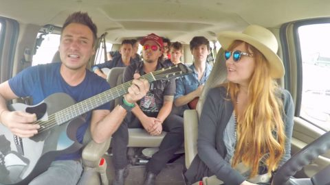 Love And Theft Joins Local Country Band For Impromptu Concert In Drive Thru   Country Music Videos