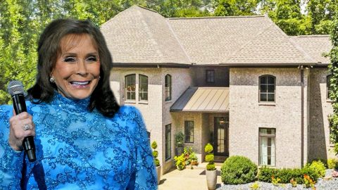 Loretta Lynn's Stunning Former Tennessee Mansion For Sale | Country Music Videos