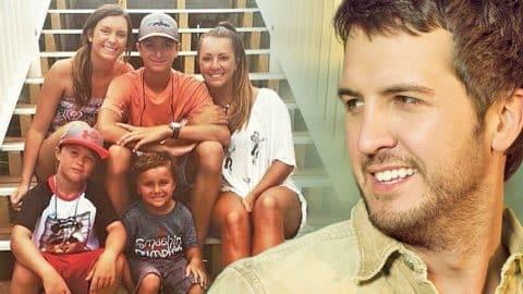 Luke Bryan's Children React To Their New Blended Family | Country Music Videos