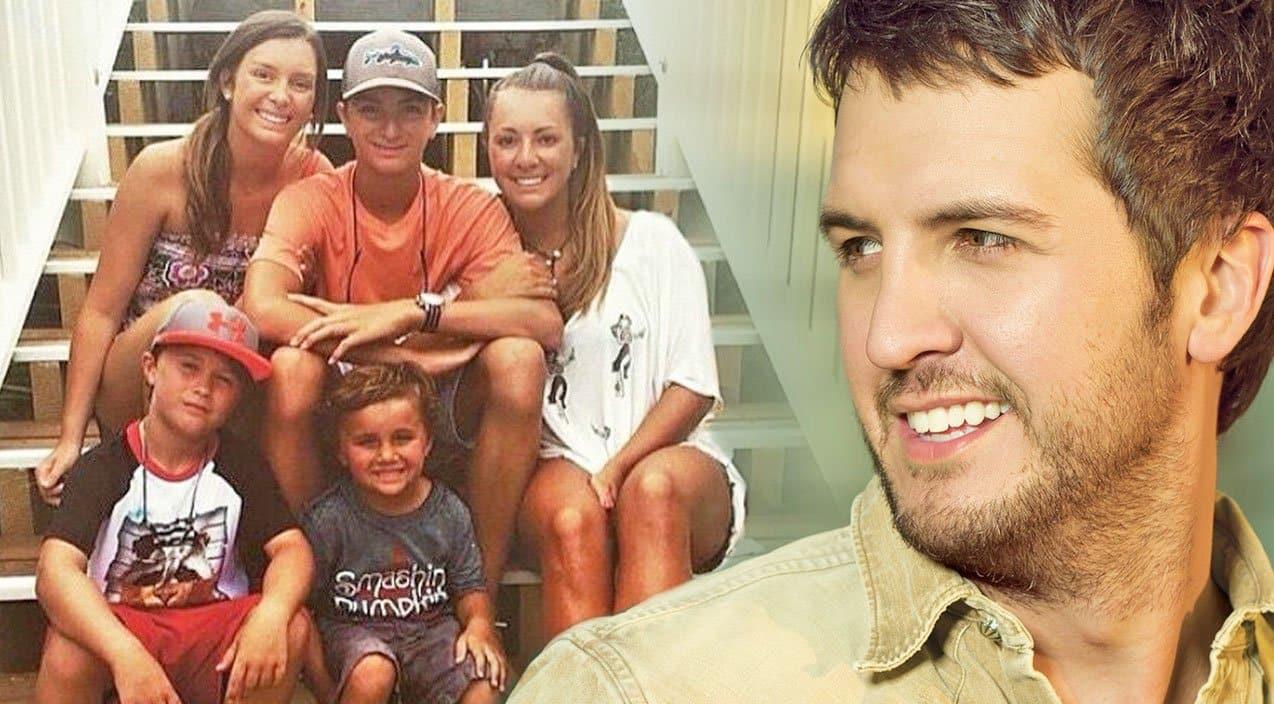 Luke Bryan S Children React To Their New Blended Family