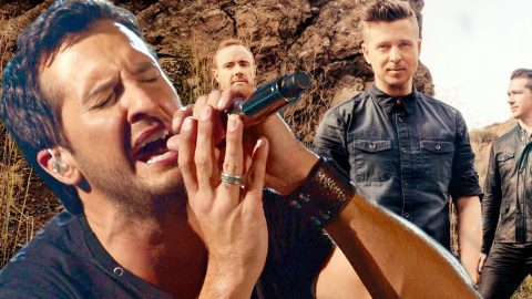 Luke Bryan's Dazzling Rendition of OneRepublic's 'Apologize' (LIVE) (WATCH) | Country Music Videos