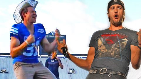 Luke Bryan's Anthem Goes Side-Splitting Football Parody | Country Music Videos