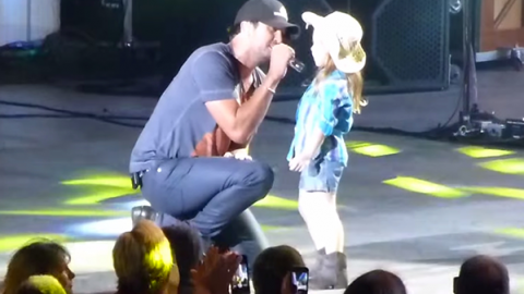Luke Bryan – Someone Else Calling You Baby (w/ Adorable 6 Year Old Kylee) (VIDEO) | Country Music Videos