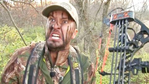 You Won't Be Able To Stop Laughing At Luke Bryan Freaking Out While Hunting | Country Music Videos