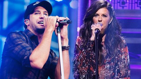 Luke Bryan & Little Big Town Sing Passionate Cover Of Ed Sheeran's 'Thinking Out Loud' | Country Music Videos