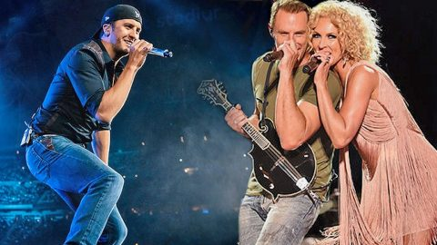 Luke Bryan & Little Big Town Kick Off Tour With Sultry Marvin Gaye Cover | Country Music Videos