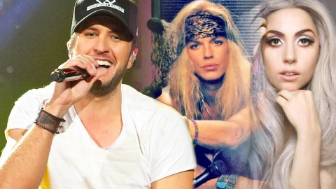 "Luke Bryan Rocks Lady Gaga's ""Bad Romance"" & Poison's ""Nothin' But a Good Time"" 