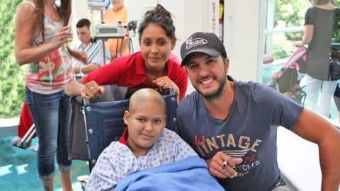 Luke Bryan's Heartwarming Hospital Visit Gives Kids A ...