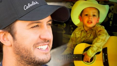 "5-Year-Old Cowboy Adorably Sings Along To Luke Bryan's ""Crash My Party"" 