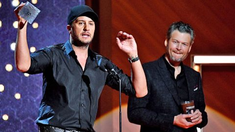 Luke Bryan Fires Back At The Haters Criticizing Blake Shelton's 'Sexiest Man Alive' Win | Country Music Videos