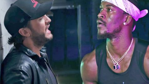 Luke Bryan Brings On NBA Superstar For Surprising 'Light It Up' Music Video | Country Music Videos