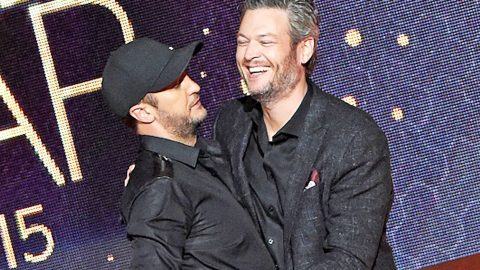 Luke Bryan Reacts To Blake Shelton Being Named 'Sexiest Man Alive' | Country Music Videos