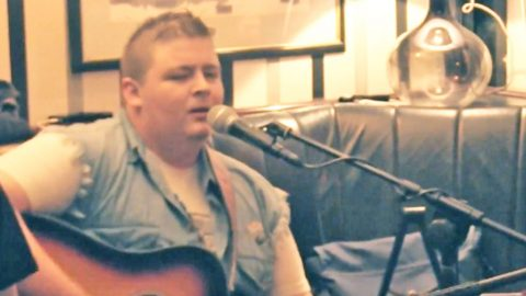 Talented Irishman's Voice Is As Smooth As Whiskey During 'Mama Tried' Cover   Country Music Videos