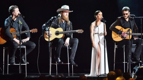 Country Stars Unite On Grammys Stage To Honor Lives Lost In Las Vegas Shooting | Country Music Videos