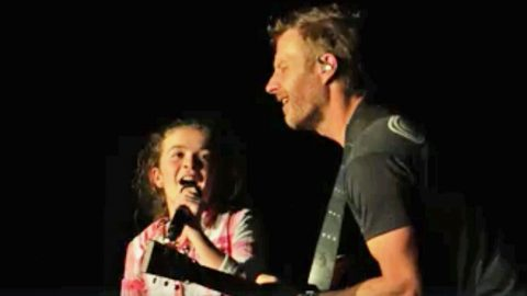 Little Girl Steals The Show From Dierks Bentley During 'Different For Girls' Duet | Country Music Videos