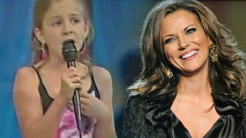 8-Year-Old Girl Will Blow Y'all Away With Martina McBride's 'Ride' | Country Music Videos